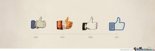 Thumbs up since 1500