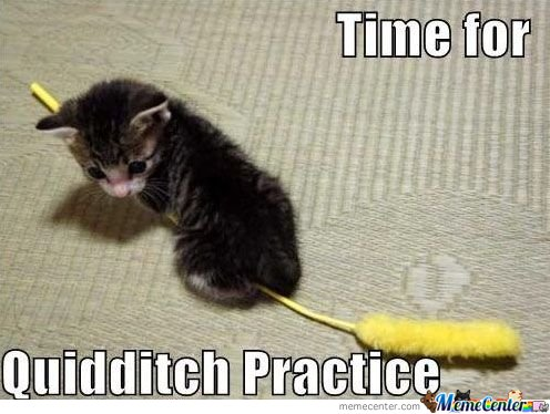Time For Quidditch Practice