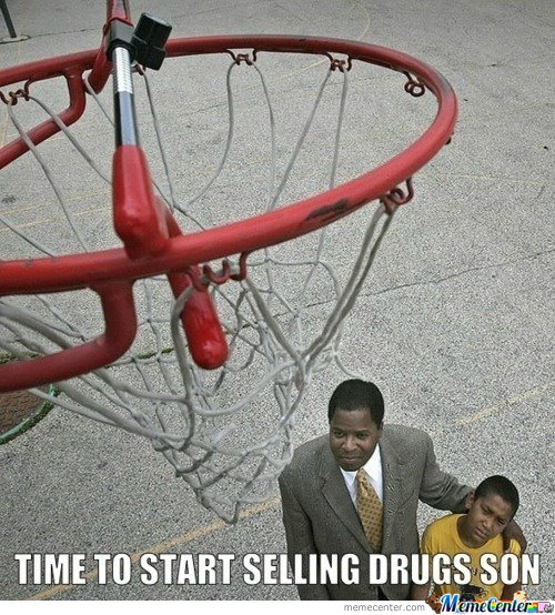Time to start selling drugs...