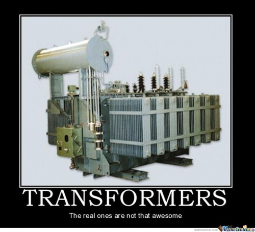 Transformers The Real Ones