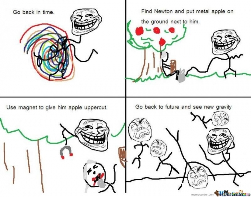 Troll Physics - Newton