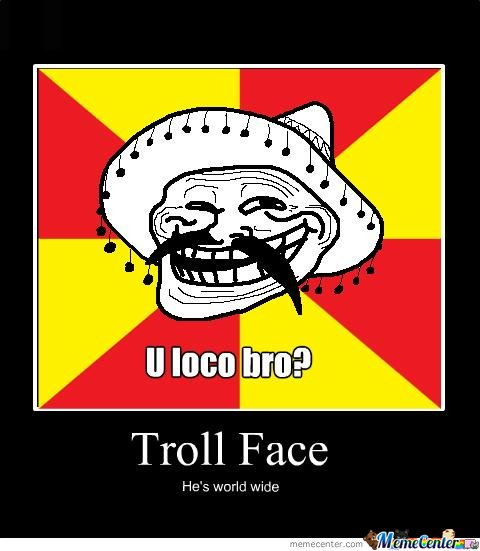Troll Face Worldwide
