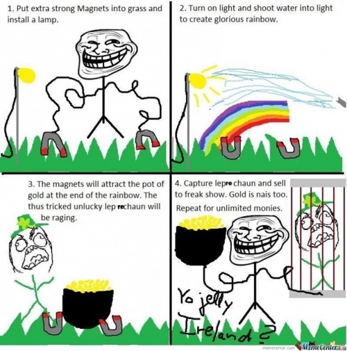 Troll physics  - U jelly Ireland?