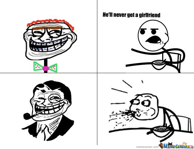 Problem Meme Troll Face Trollface may not get a girl