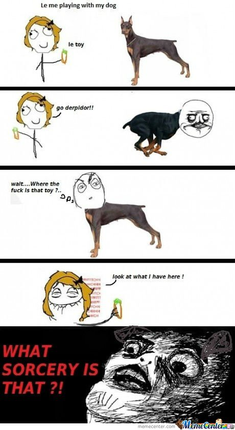 Trolling The Dog