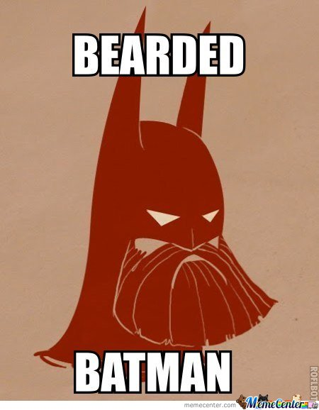 Ultimate Badass - Bearded Batman