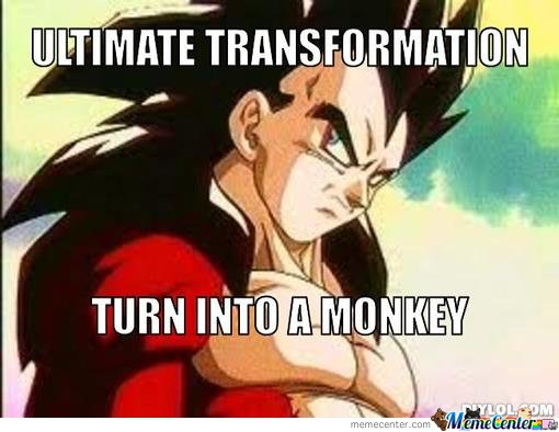 Ultimate transformation......