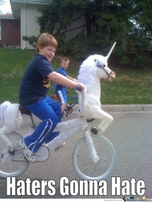 Unicorn Bike