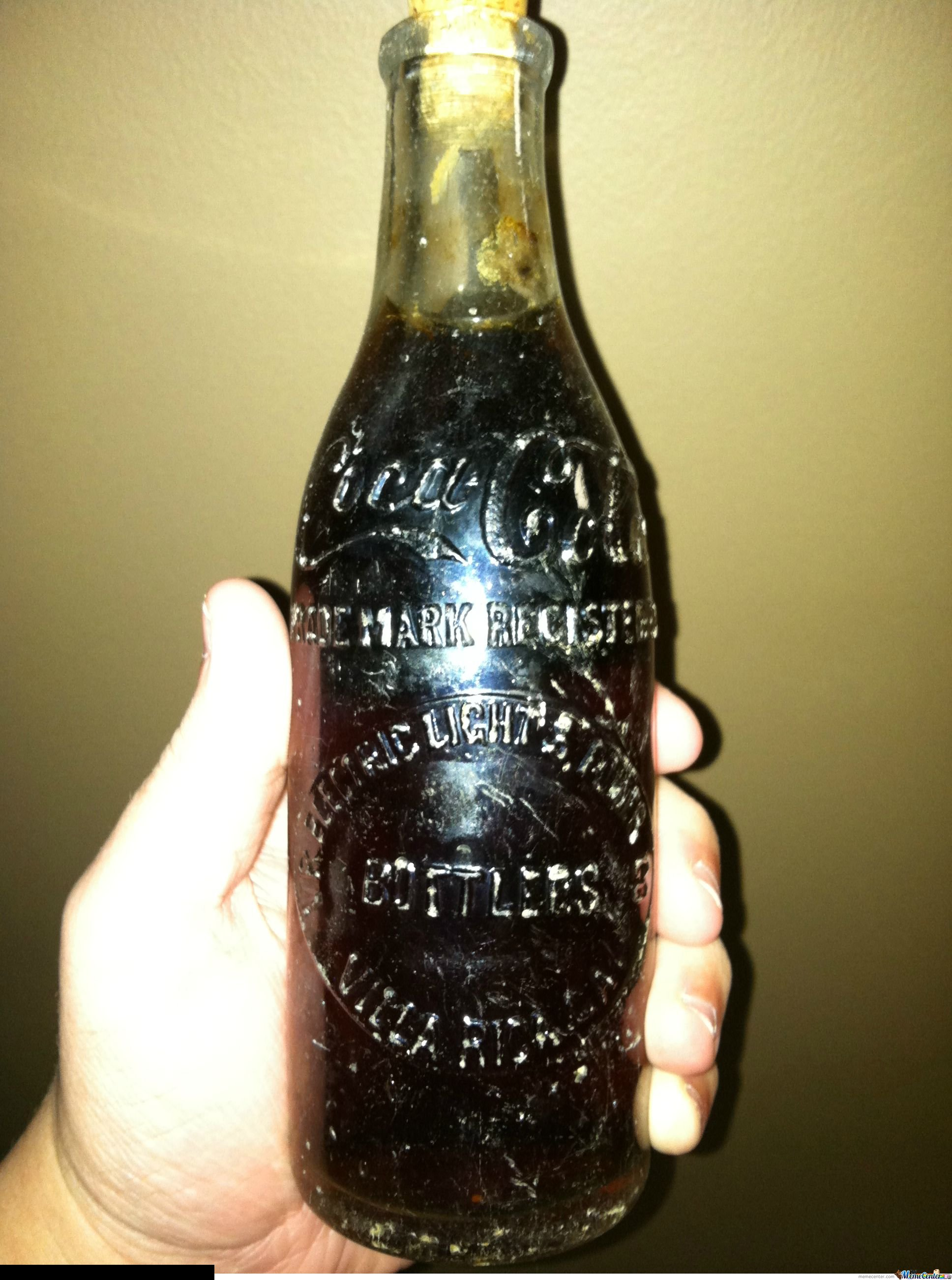 Unopened 1886 CocaCola