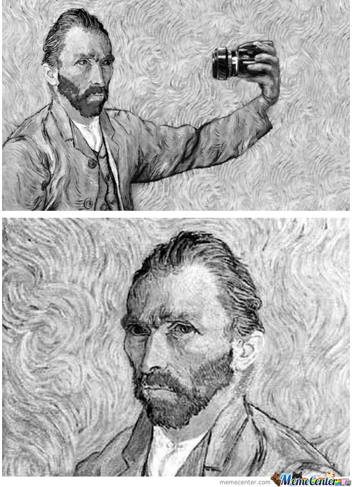 Van Gogh Facebook Profile Picture