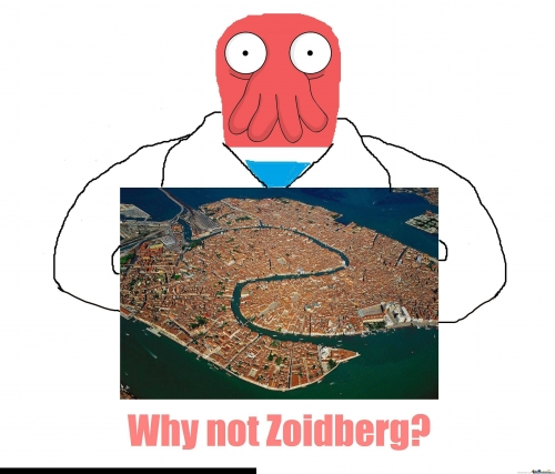 Venice, Italy from above - Why Not Zoidberg