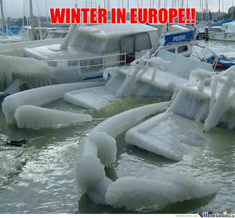 WINTER IN EUROPE!!