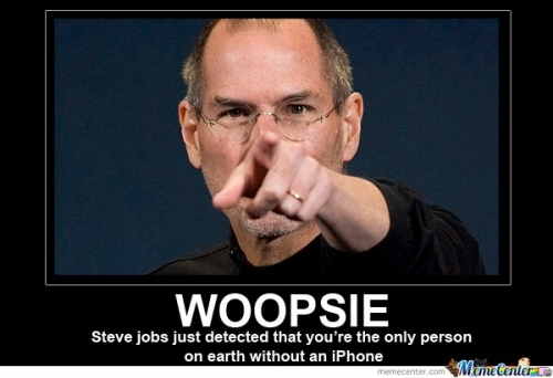 WOOPSIE. Steve Jobs Detected You!