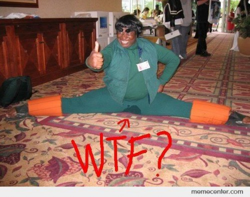 WTF Rock Lee Cosplay