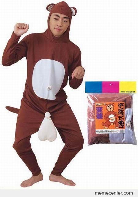 WTF Squirrel Costume