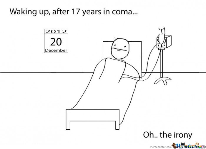 Waking up after 17 years in coma