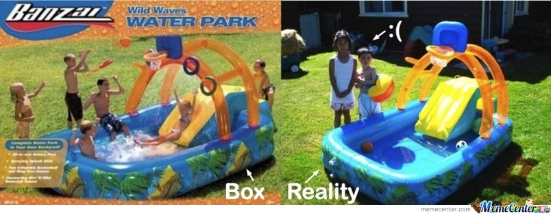 Water Park Expectation Vs Reality