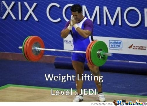 Weight Lifting Level : Jedi