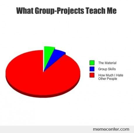 What Group Projects Teach Me