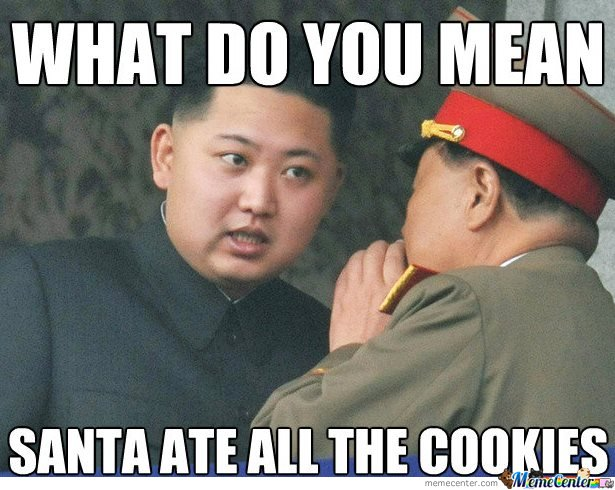 What do you mean Santa ate all the cookies?