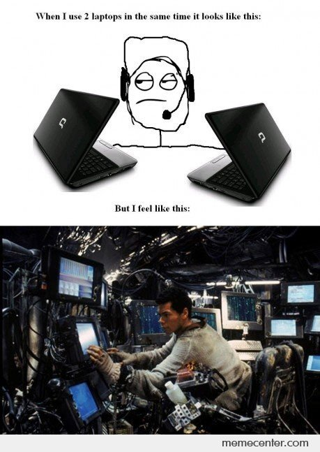 When I Use 2 Laptops