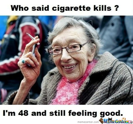 Who Said Cigarette Kills?