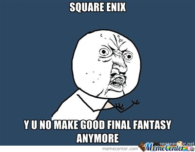 Why Square Enix