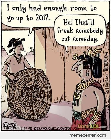 Why The Mayan Calender Stops At 2012
