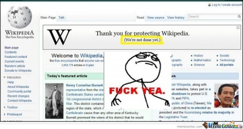 Wikipedia is not done yet