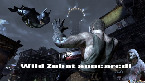 Wild Zubat Appeared!