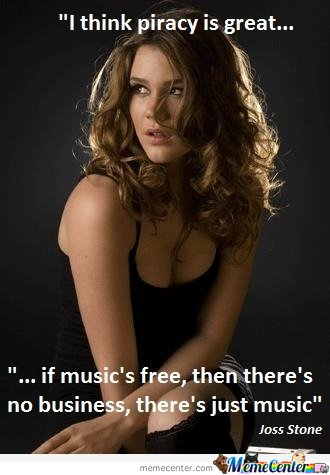 Wise words from Joss Stone