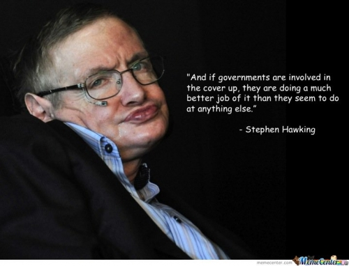 Wise words from Stephen Hawking
