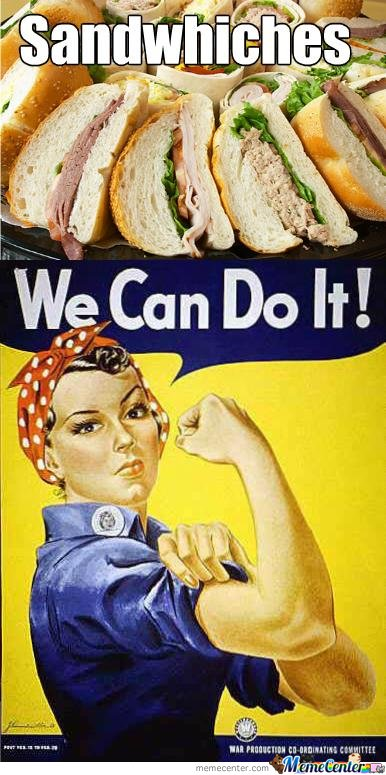 Women rights are Sandwiches