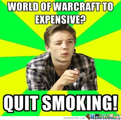 World of Warcraft too expensive?
