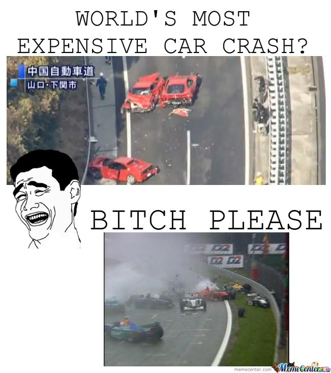 World's Most Expensive Car Crash