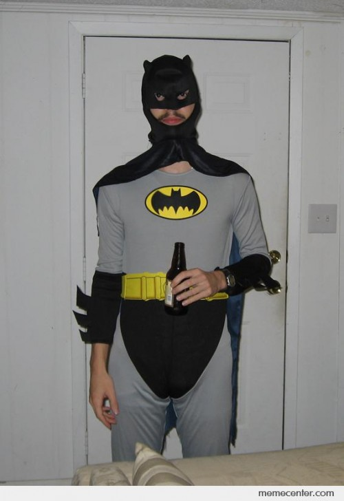Worst Batman costume ever