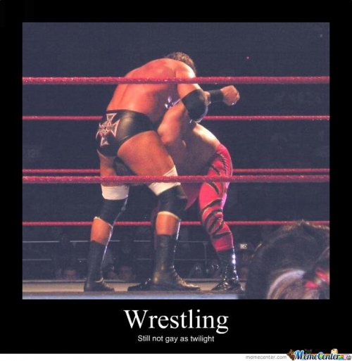 Wrestling - twilight