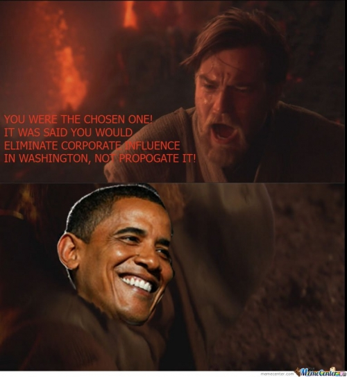 You Were The Chosen One , Obama