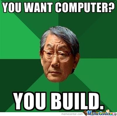You want computer?