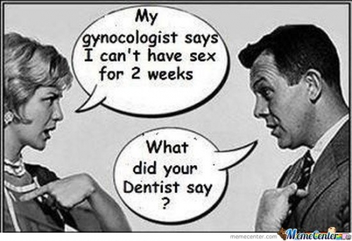 Your gynecologist says what?
