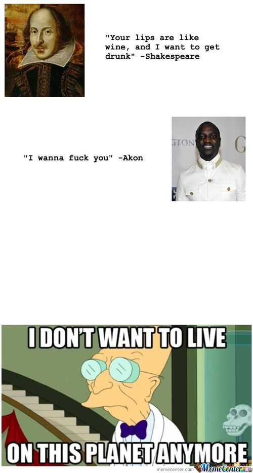 Shakespeare And Akon