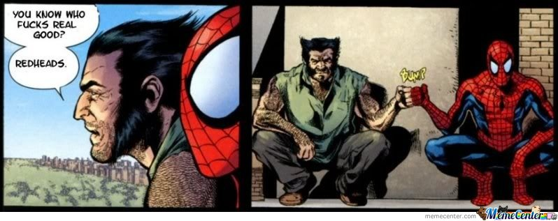 Spidey And Wolverine Brofist