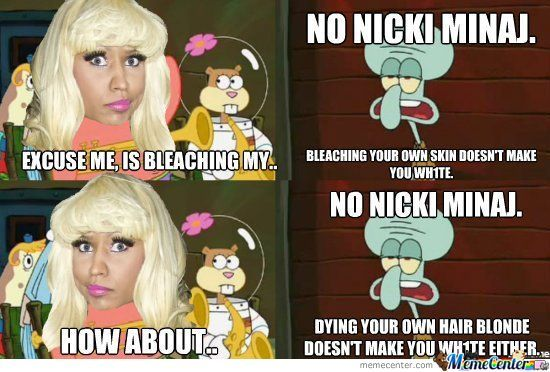 No Nicki Minaj