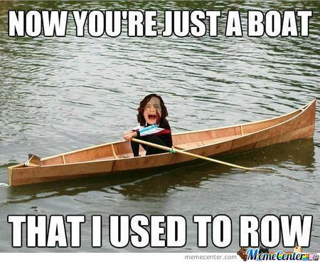 A Boat That I Used To Row