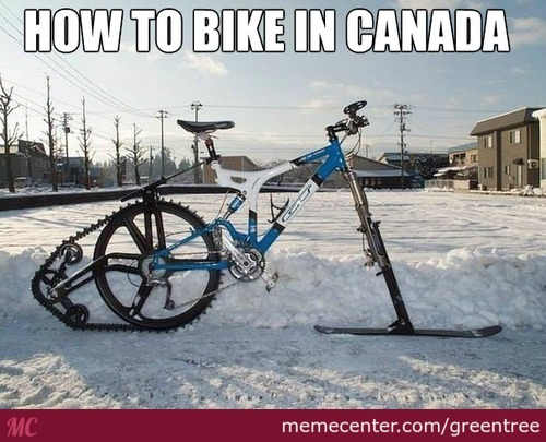 A Canadian Bike!