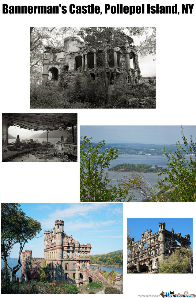 A Castle In The Middle Of Hudson River. God Damn It! I Wanna Live There!