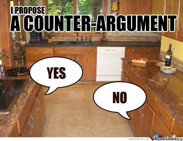 A Counter Argument