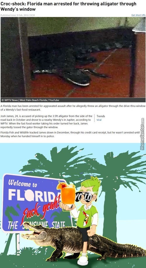 A Day Without Florida Man Is A Wasted One