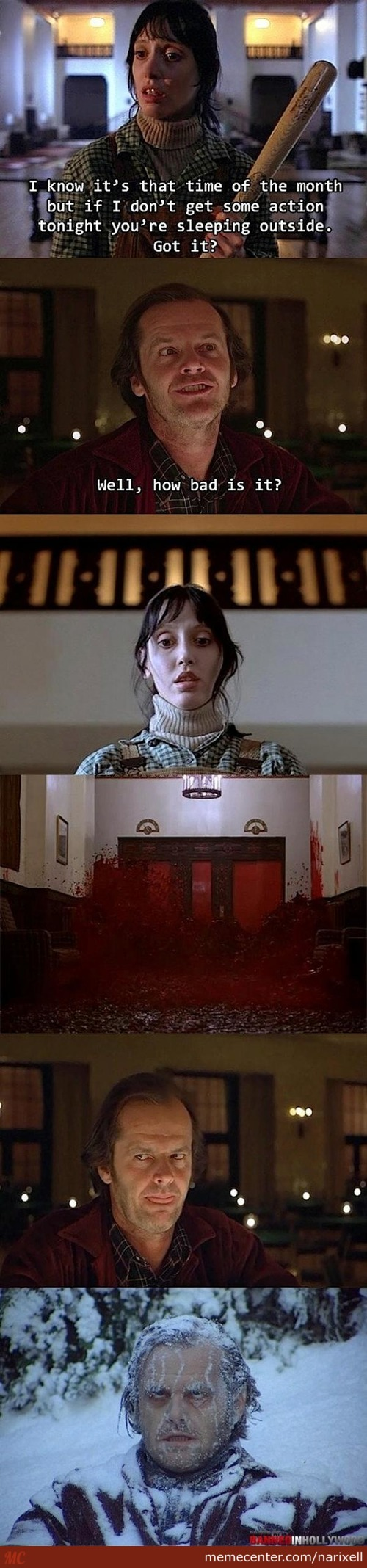 A Different Take On The Shining And The Reason For The Cold