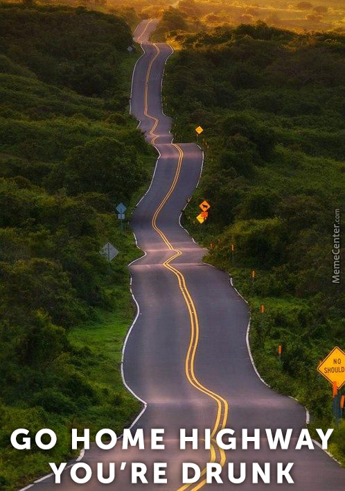 A Drunk Hawaii Highway